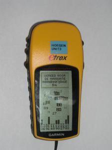 Garmin etrex 10 gps systeem hiermee raak je de weg niet kwijt.