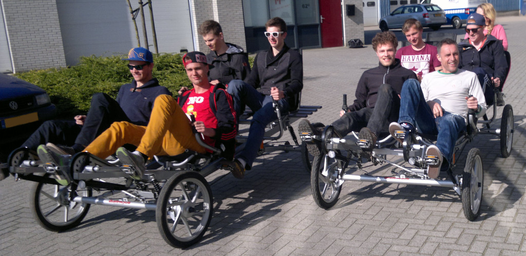 quattrocycle familiefiets
